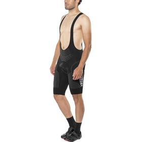 X-Bionic Biking Twyce Endurance Culotte con tirantes Hombre, black/anthracite